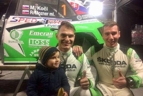 Koči/Mozner | Fot. Skoda Slovakia Motorsport