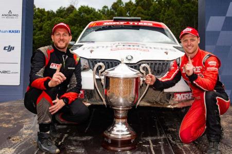 Evans/Searcy | Fot. rally.com.au