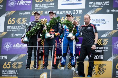 Podium GP Makau | Fot. Team Motopark