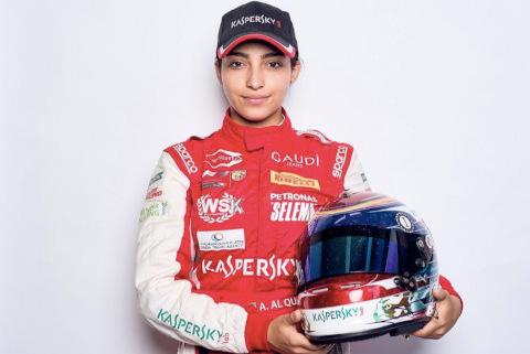 Amna al-Qubaisi | Fot. Virgin Racing