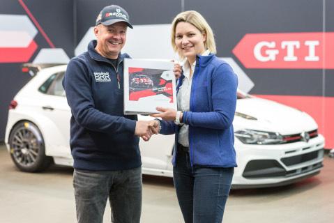 Raimund Baumschlager i Juliane Gründl | Fot. VW Motorsport