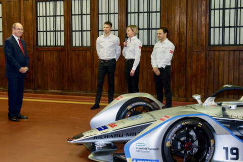Prezentacja Venturi Formula E Team   Fot. Venturi