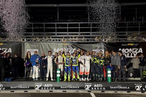 Podium Masters' Show | Fot. Monza Eni Circuit