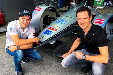 Felipe Massa i Sébastien Ogier | Fot. Twitter