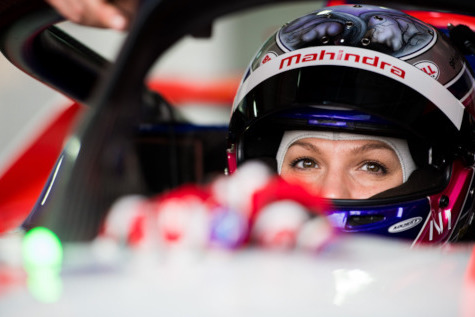 Katherine Legge | Fot. Mahindra Racing