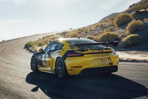 Porsche 718 Cayman GT4 Clubsport | Fot. Porsche
