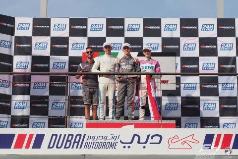 Podium w Dubaju | Fot. F4 UAE