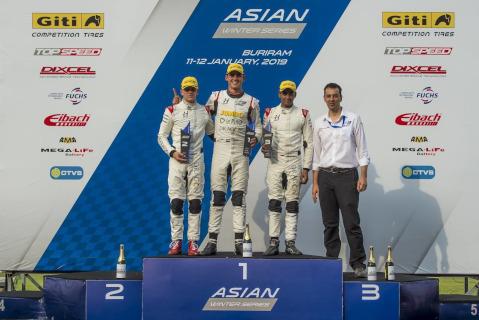 Podium w Buriram | Fot. F3 Asia