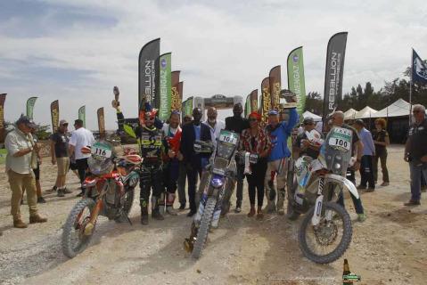Podium Moto w Africa Eco Race | Fot. AER