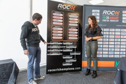 Losowanie ROC | Fot. raceofchampions.com