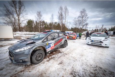 Fiesta Proto Stanisława Trawnikowa | Fot. rally-peno.ru