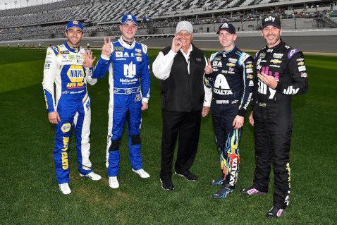 Rick Hendrick i top 4 w kwalifikacjach do Daytona 500 | Fot. Hendrick Motorsports