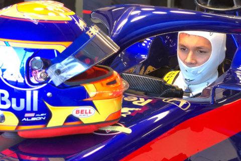 Alex Albon | Fot. Toro Rosso