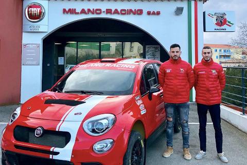 Dubert/Coria | Fot. Team Milano Racing