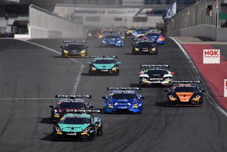 Start w Dubaju | Fot. Target Racing