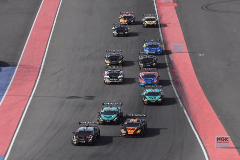 Start w Dubaju   Fot. Target Racing
