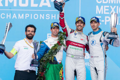 Podium w Meksyku | Fot. Audi Sport