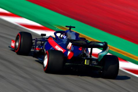Alexander Albon | Fot. Toro Rosso