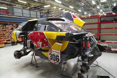 Peugeot Sébastiena Loeba | Fot. PH Sport