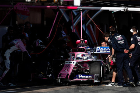 Sergio Pérez | Fot. Racing Point