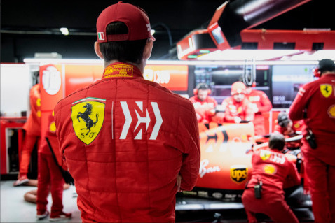 Charlec Leclerc | Fot. Ferrari