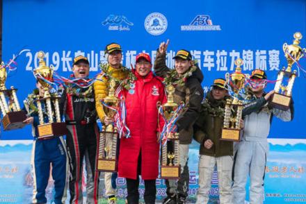Podium w Changchun | Fot. autosports.org.cn