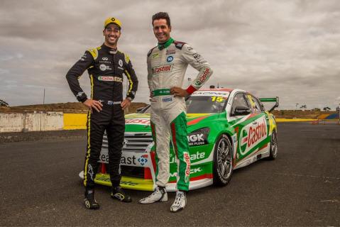 Daniel Ricciardo i Rick Kelly | Fot. Kelly Racing
