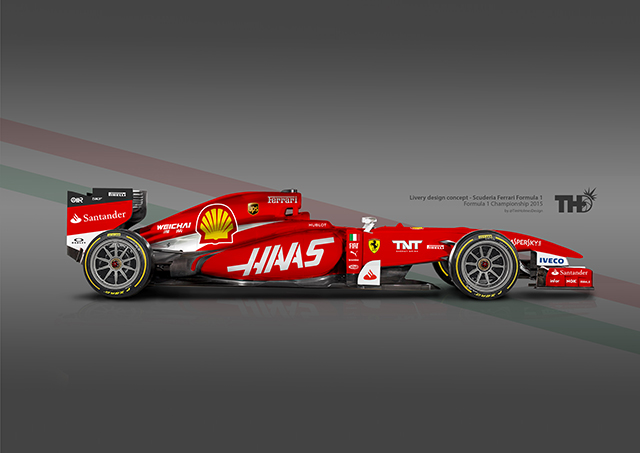 Haas F1 Ferrari