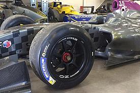 Michelin 18-inch tyre Formula Renault 3.5 test