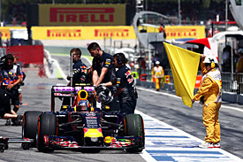 Daniil Kvyat, Red Bull, Spanish GP 2015