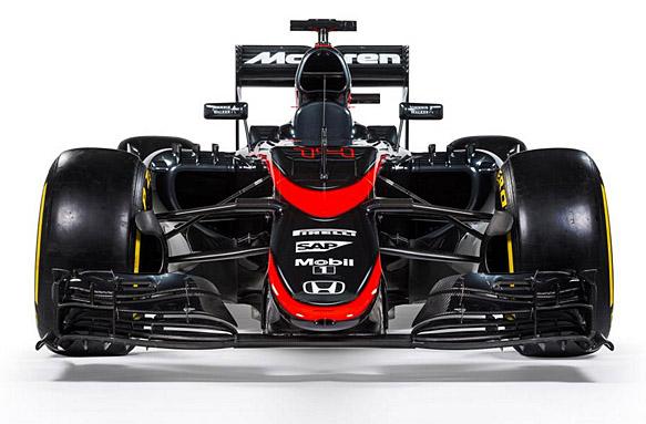McLaren Spanish GP livery, F1 2015