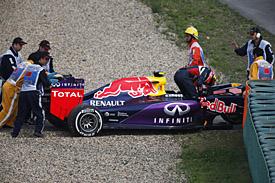 Daniil Kvyat, Red Bull, goes off, Chinese GP 2015, Shanghai