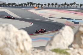 Kimi Raikkonen, Ferrari, Bahrain F1 testing February 2014