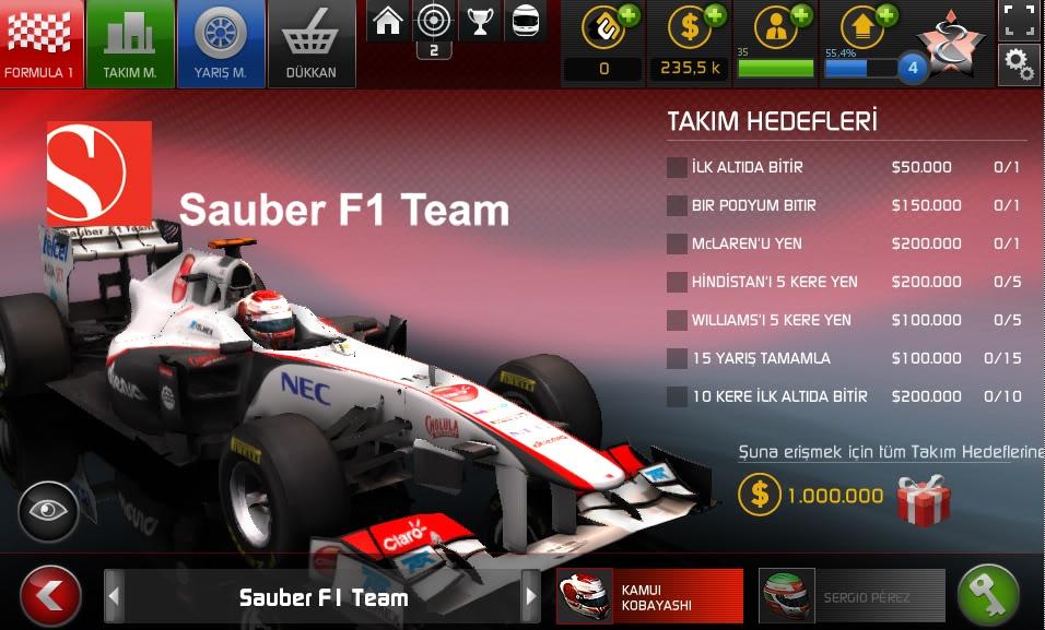 F1 modu