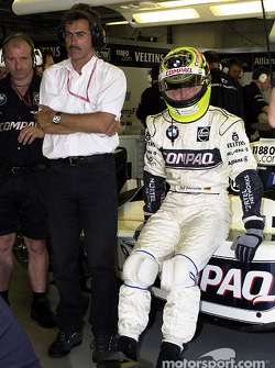 BMW Motorsport Director Dr. Mario Theissen and Ralf Schumacher