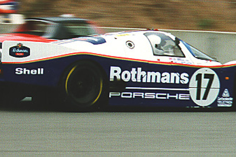 Exhibition Porsche 956 - Le Mans Rothman (between turns 2 & 3)