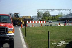 Tour of the Gilles-Villeneuve circuit