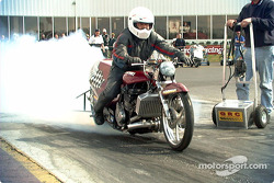 Another Suzuki burnout