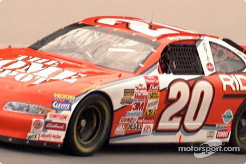 Tony Stewart car on track