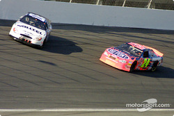 Ryan Newman in trouble and Jeff Gordon