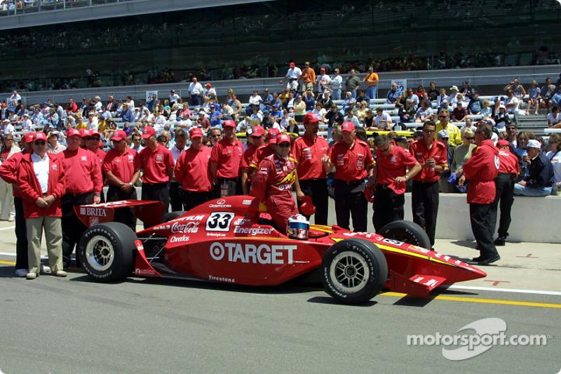 Tony Stewart and Chip Ganassi Racing Team