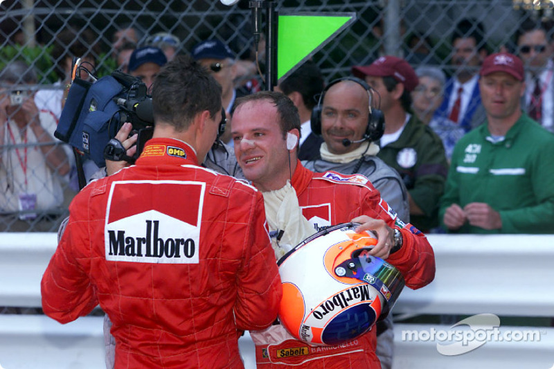 A double for Michael Schumacher and Rubens Barrichello