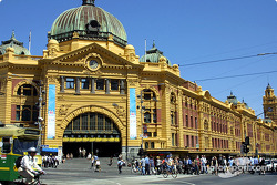 Melbourne Flinders Station