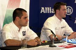 Press conference: Juan Pablo Montoya and Ralf Schumacher