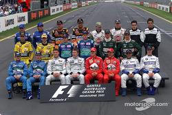Все пилоты сезона-2001