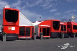 Visit of the Ferrari media unit