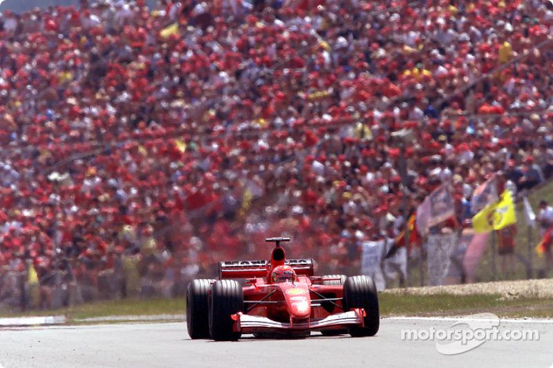 2001. Нюрбургрінг. Переможець: Міхаель Шумахер, Ferrari