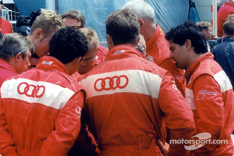 Audi team making plans for the start