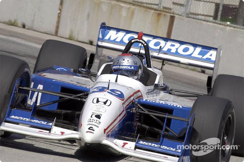 Race winner Michael Andretti