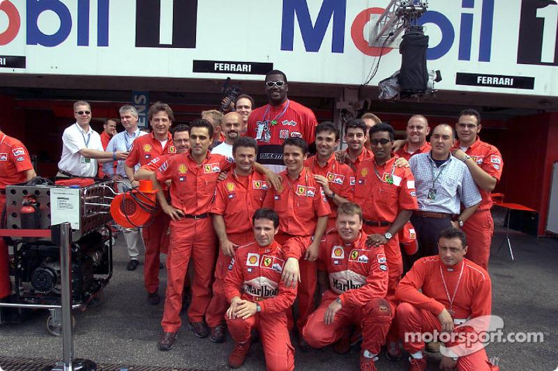 Shaquille O'Neal and Team Ferrari